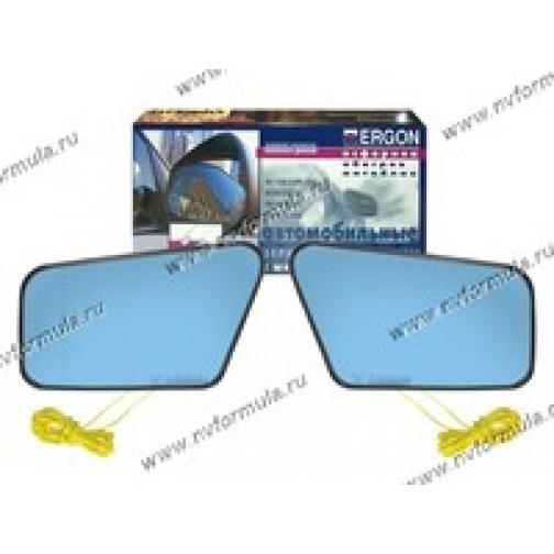 Зеркальный эл-т 2108-099 ERGON левый/правый с рамкой антиблик синий обогрев асферика-419167