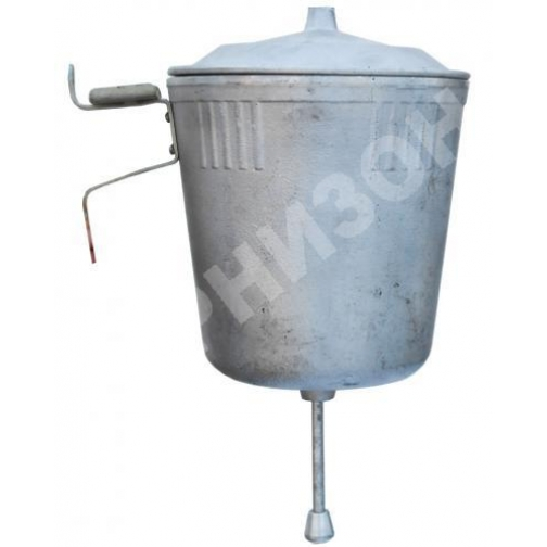 Умывальник алюминиевый с клапаном (производство СССР)-8170769