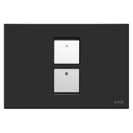 Кнопка смыва VITRA 740-0111 черный-6759869