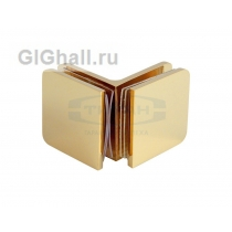 Коннектор стекло - стекло 90 гр. T-725 TP