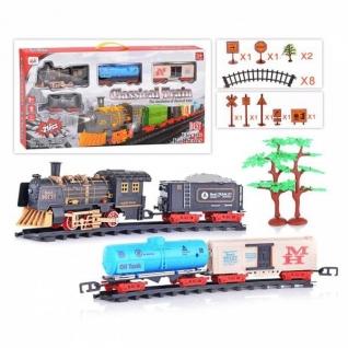Железная дорога Classical Train (свет, звук)-37737623