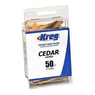 Мебельная заглушка Kreg P-CDR кедр, 50 шт.