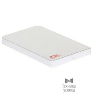 "AgeStar AgeStar Внешний корпус для 2.5"" SATA-устройств, 3UB2O1 silver, AgeStar USB3.0, алюминий, серебристый 592011/08304"