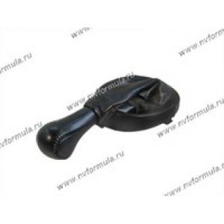 Ручка КПП 2123 Chevy Niva раздатка кожа+чехол-431215