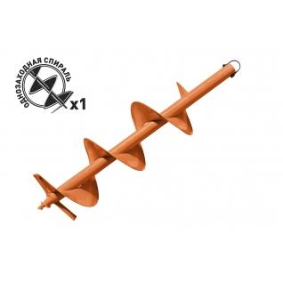 Carver GDB-200 однозаходный (d пос=20мм, D=200мм, L=80см), Шнек для грунта-37389268