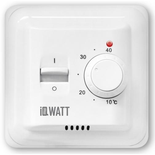 IQWATT IQ THERMOSTAT M – Механический терморегулятор (белый)-6763743