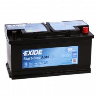 Автомобильный аккумулятор EXIDE EXIDE Start-Stop AGM EK950 (95R) 850А обратная полярность 95 А/ч (353x175x190)-5789033