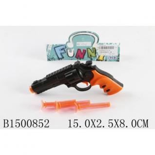 Пистолет С Присосками 0716 В Пак. 15*2*8См-37792485