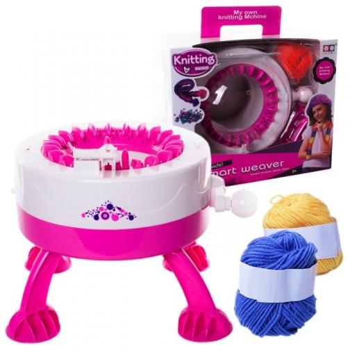 Детская вязальная машинка Smart Weaver с набором для вязания-827330