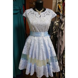 Нарядное платье 42 размер-6679645