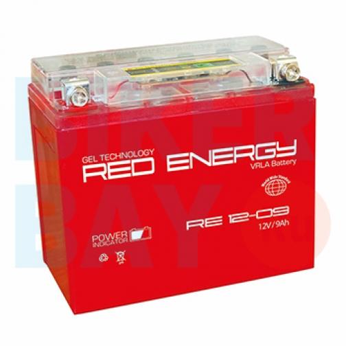 Аккумуляторная батарея 12V9Ah (150х86х108) (гелевая, необслуж.) RED ENERGY-6403467