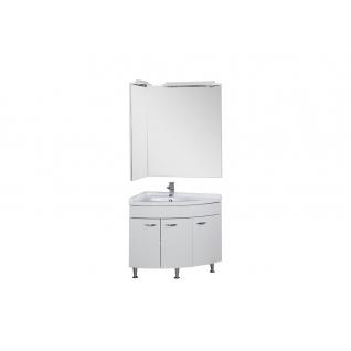 Комплект мебели угловой для ванной Aquanet Корнер 00161232-11491441