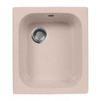 Мойка кухонная Aqua Granit Ex, цвет: розовый, арт. M-17 (315)