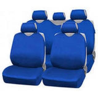 Nissan Tiida / Ниссан Тиида седан 2006- Чехлы майки AUTOPROFI R 1 Sport синие-434264