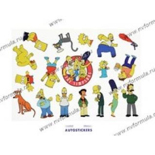 Наклейка The Simpsons 35x50-431494