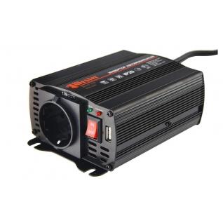Преобразователь инверторный а/м WESTER MSW250 12-220В+USB; 250Вт модифицированная...-1210183