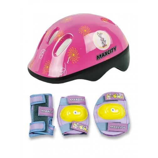 Набор защиты для детей MaxCity Little Rabbit (розовый)-5999534