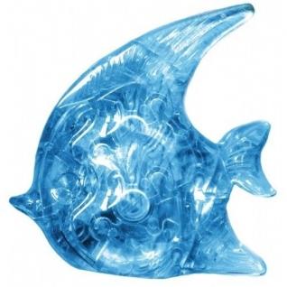"""3D-головоломка """"Рыбка"""", голубая, 19 элементов Ice Puzzle-37711596"""
