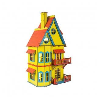 Сборный кукольный домик, желтый Большой слон-37728995