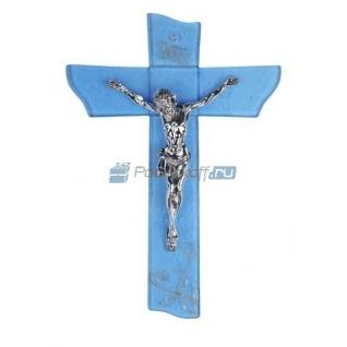 """Распятие """"Иисус"""" с посеребрением-5865021"""