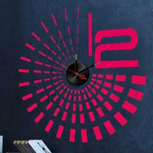 Часы-наклейка Feron NL28-8692033
