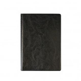Обложка для паспорта черного цвета, с файлами для авто. 2812.АП-207