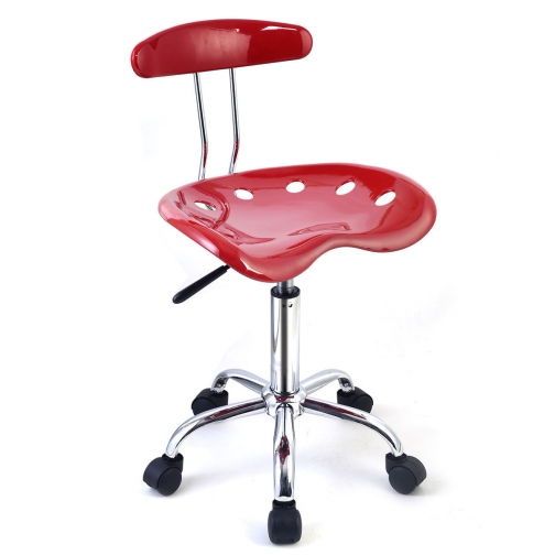 Барный стул (Красный)-6405402