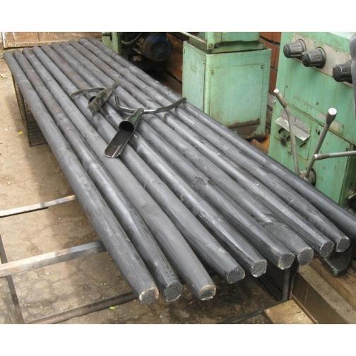 Древко-черенок для опорного инструмента рогача багра ДИН-59х70-3КП-6103015