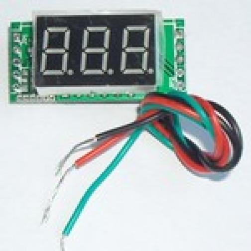 амперметр мини 0-100А + шунт-863005