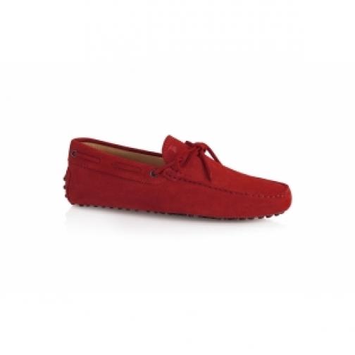 Красные мокасины Tods-903263