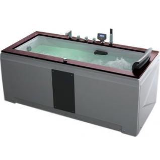 Акриловая ванна Gemy с гидромассажем (G9057-II K)-6821129