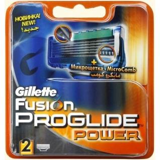 Gillette Fusion PROGLIDE power 2 шт-4999681