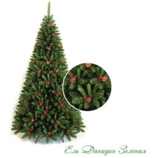 Ель Искусственная Classic Christmas Tree Данидин зеленая 2.45 м арт.5504