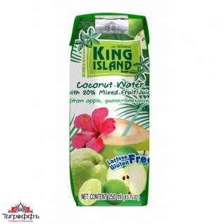 Кокосовая вода с фруктовыми соками (яблоко, лайм, гуава)-945232