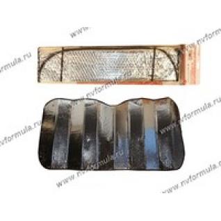 Шторка автомобильная 130х60см AUTOSTANDART 101601 на ветровое стекло солнцеотражающая-430946