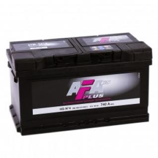 Автомобильный аккумулятор AFA AFA 80R (низкий) 740А обратная полярность 80 А/ч (315x175x175)-5789012