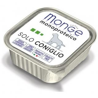 Monge Monge Dog Monoproteico Solo консервы для собак паштет из кролика 150 г