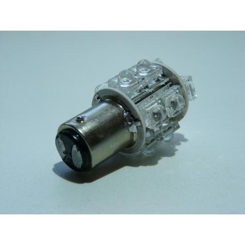 Автомобильная светодиодная лампа 1157P (21/5W) 13 Dip Led Красная-5732481