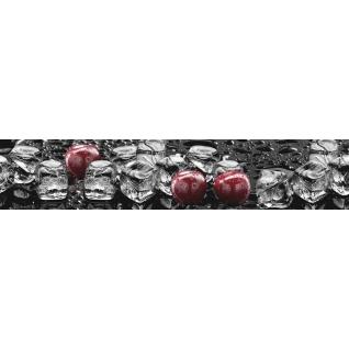 Фартук для кухни АБС Лед и Вишня №31 600х3000х1,5мм-37623236