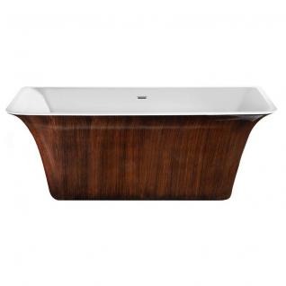 Отдельно стоящая ванна LAGARD Evora Brown wood