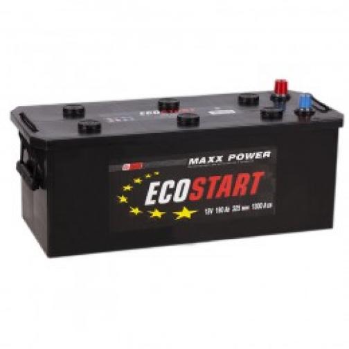 Автомобильный аккумулятор ECOSTART ECOSTART 190 под болт 1300А прямая полярность 190 А/ч (513x222x217)-6648961