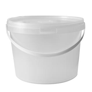 Ведро 11,5 литров полиэтиленовое с герметичной крышкой