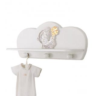 Полка-вешалка Baby Expert Полка-вешалка Meraviglia белая