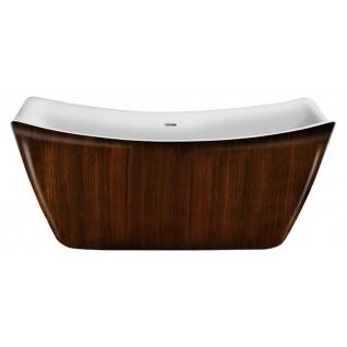 Отдельно стоящая ванна LAGARD Meda Brown wood