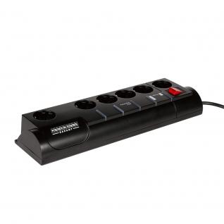 Сетевой фильтр Power Cube Garant 3.0 м, 5+1, чёрный, телеф.защита, 10А/2,2кВт-6439711
