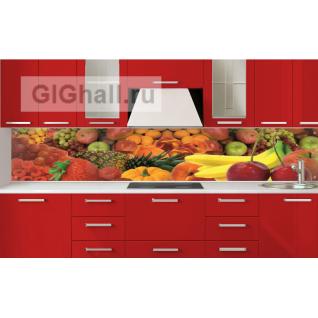 Стеклянный фартук для кухни ФРУКТЫ-5901807