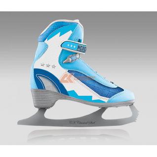 Фигурные коньки СК (Спортивная коллекция) МОЛОДЕЖКА MFS Blue (подростковые)