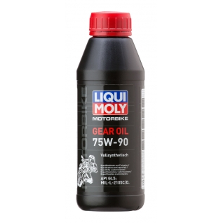 Трансмиссионное масло LIQUI MOLY 75W90 GL-5 0.5л