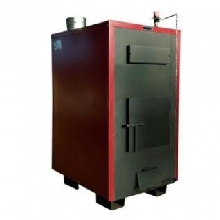Буржуй-К Т-150А-2К – двухконтурный твердотопливный пиролизный котел с автоматическим регулятором тяги мощностью 150 кВт-6762621