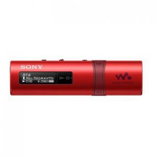 Плеер MP3 SONY NWZ-B183F красный